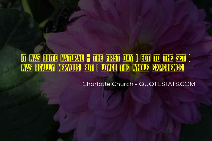 Charlotte Church Quotes #1717406