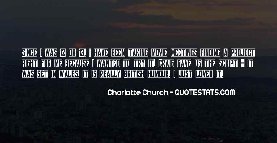 Charlotte Church Quotes #288847
