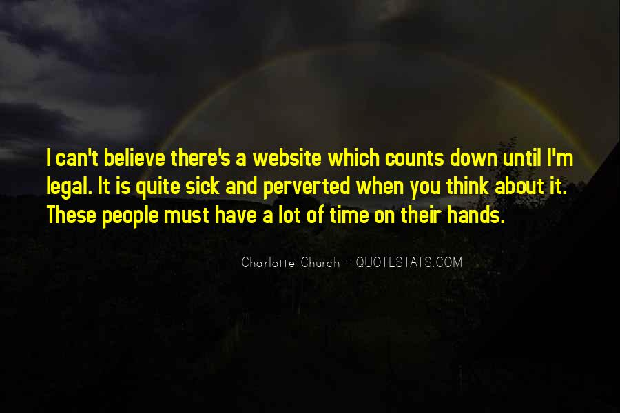Charlotte Church Quotes #784066