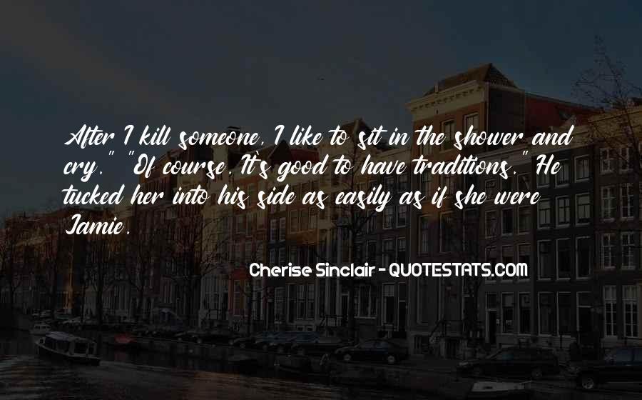Cherise Sinclair Quotes #1049398