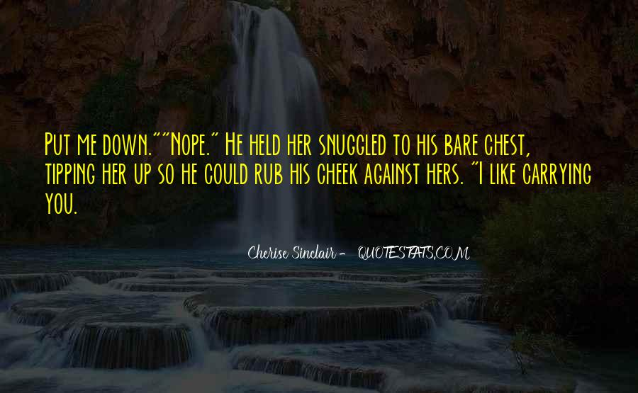 Cherise Sinclair Quotes #1147087