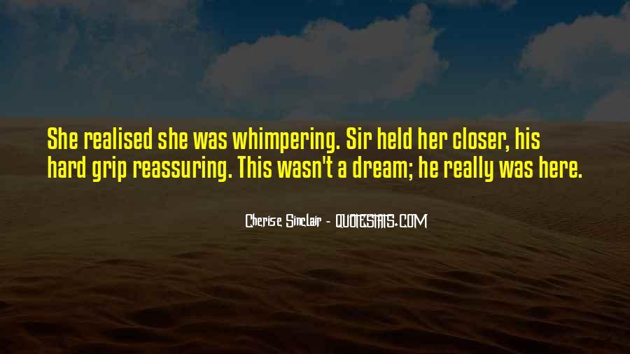 Cherise Sinclair Quotes #1215529