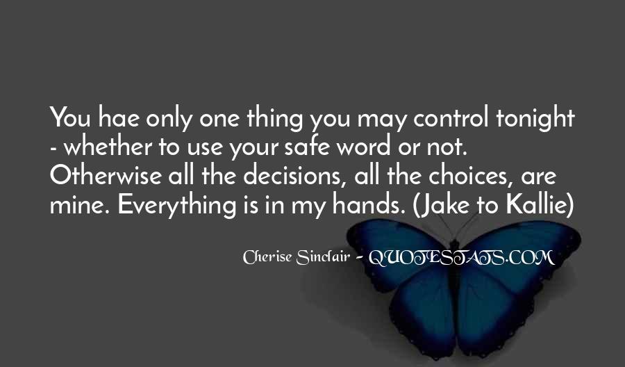 Cherise Sinclair Quotes #1344628