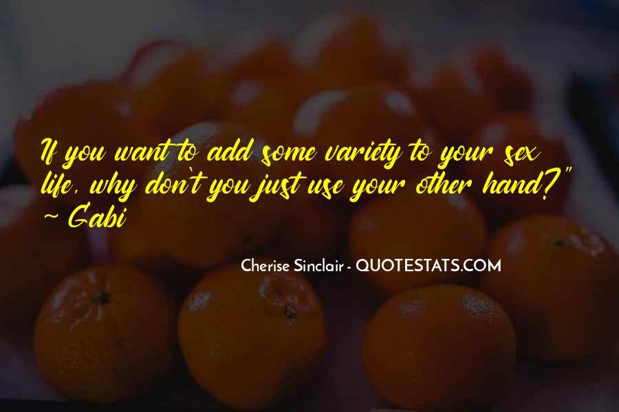 Cherise Sinclair Quotes #1562535