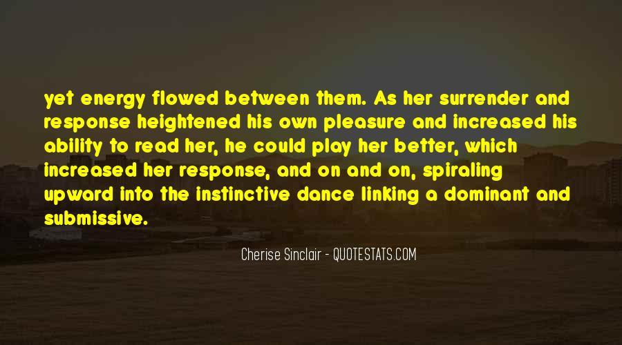 Cherise Sinclair Quotes #1600365