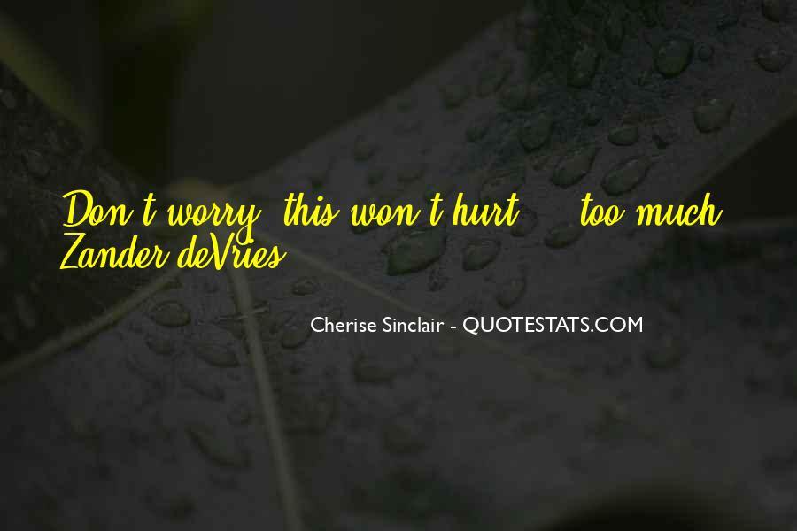 Cherise Sinclair Quotes #1618305