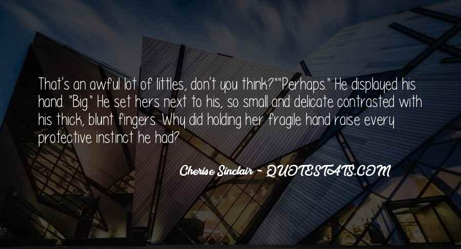Cherise Sinclair Quotes #1781396