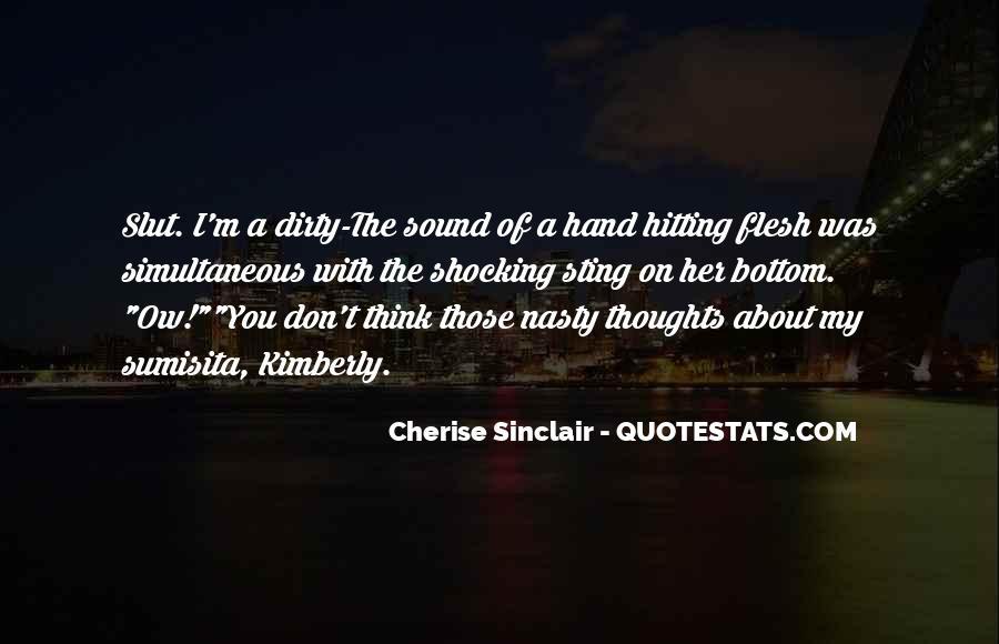 Cherise Sinclair Quotes #1834080