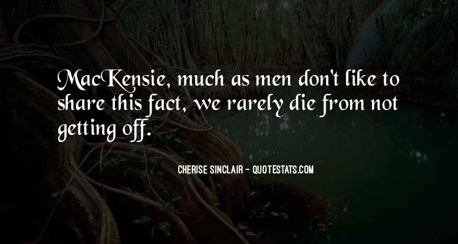 Cherise Sinclair Quotes #1853762