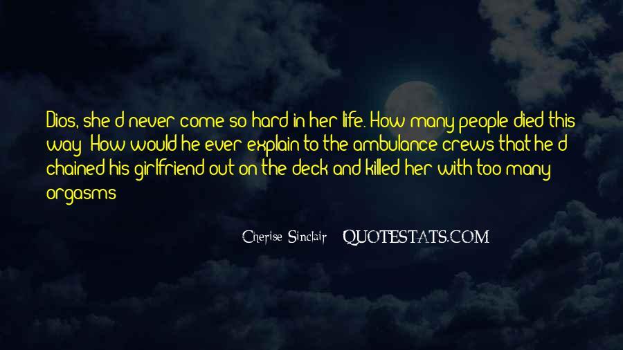 Cherise Sinclair Quotes #231603