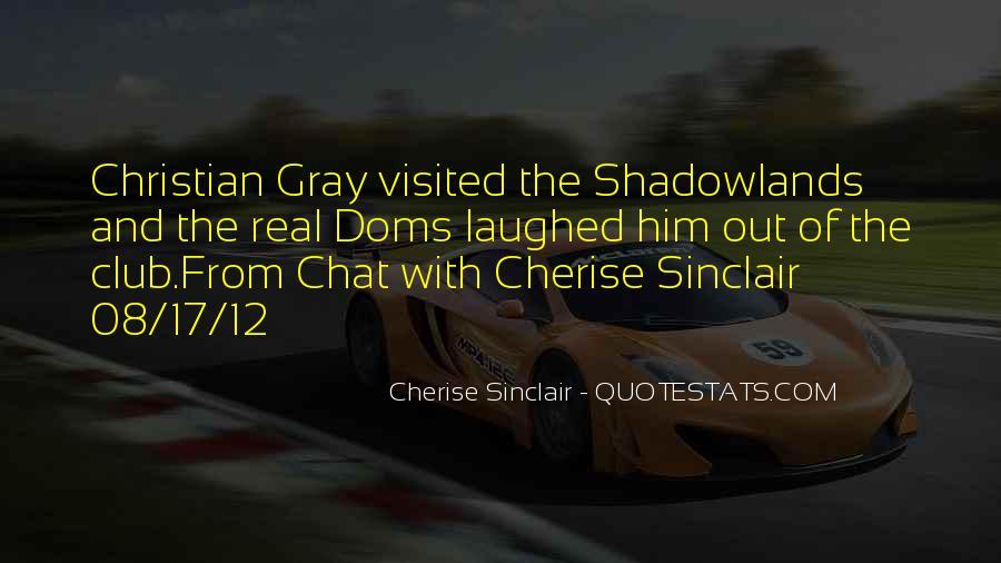 Cherise Sinclair Quotes #285869