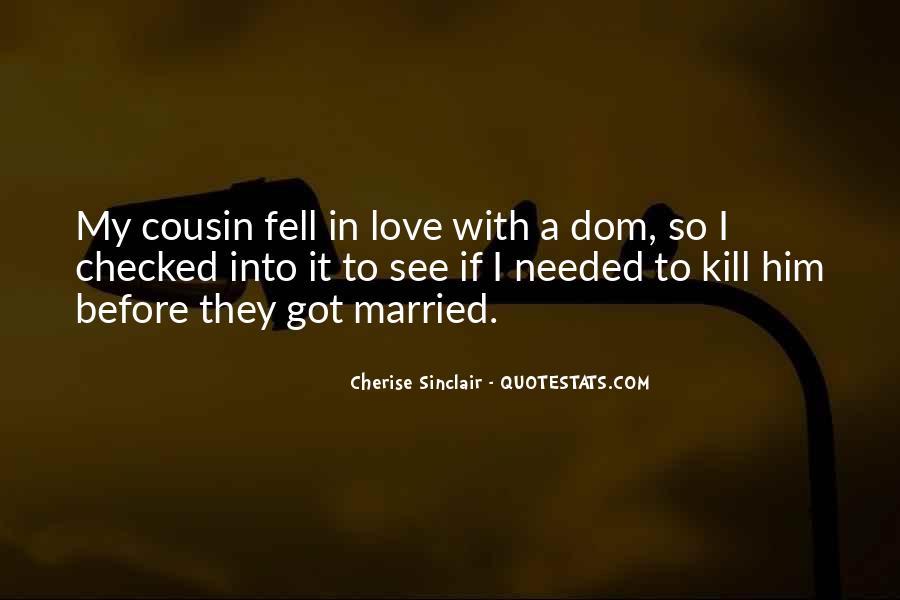 Cherise Sinclair Quotes #549832