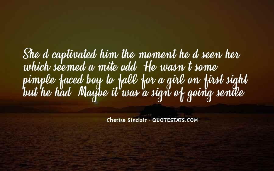 Cherise Sinclair Quotes #684054