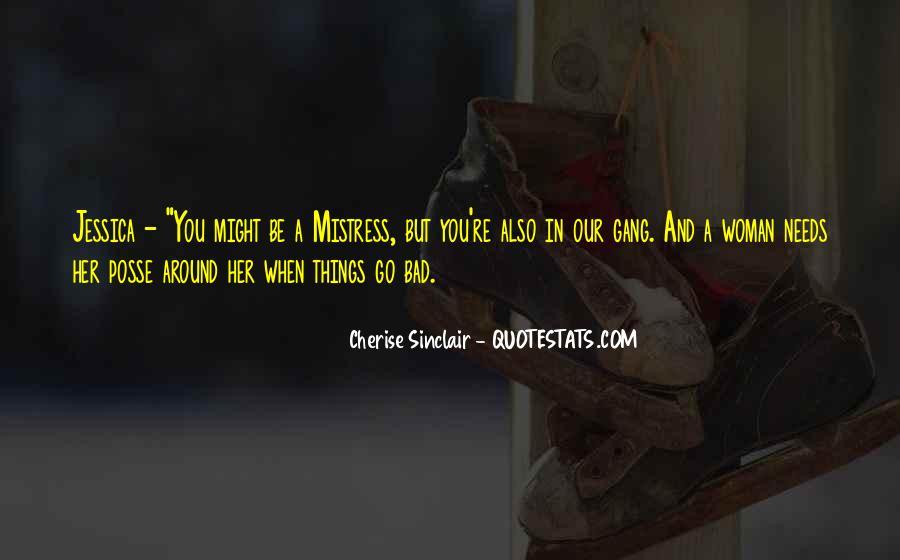Cherise Sinclair Quotes #695065