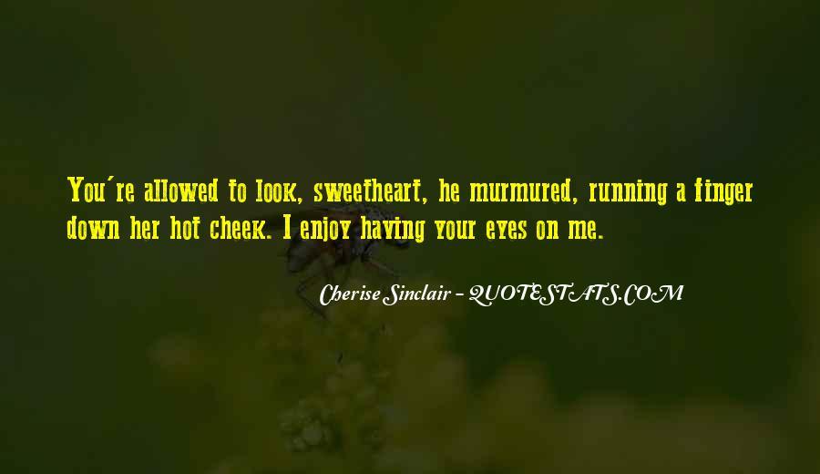 Cherise Sinclair Quotes #866847