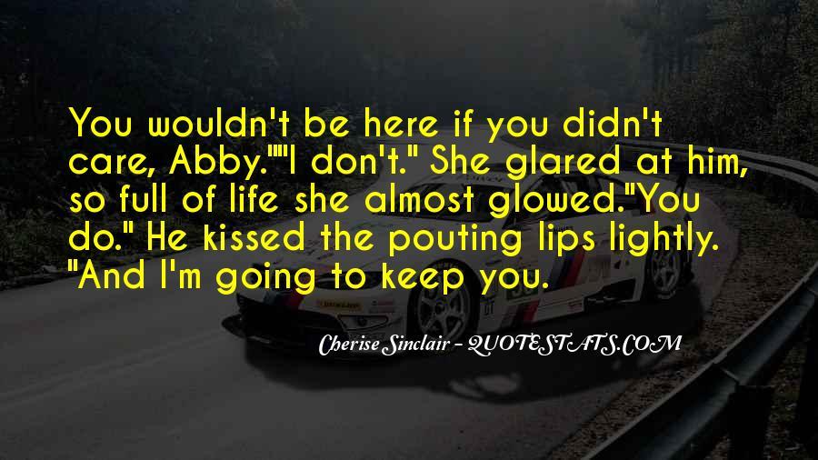 Cherise Sinclair Quotes #9307