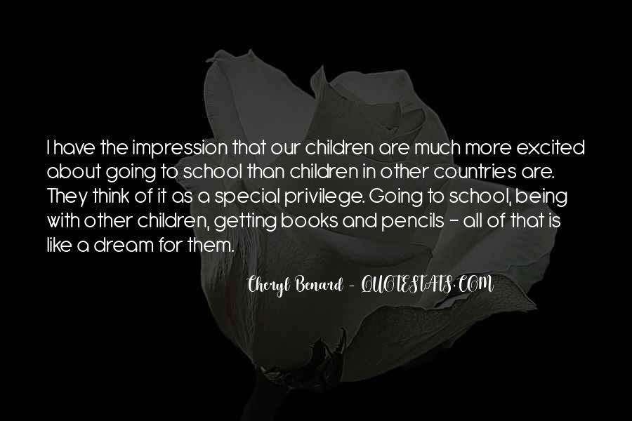 Cheryl Benard Quotes #411941