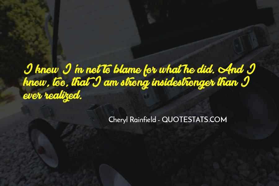 Cheryl Rainfield Quotes #1749434