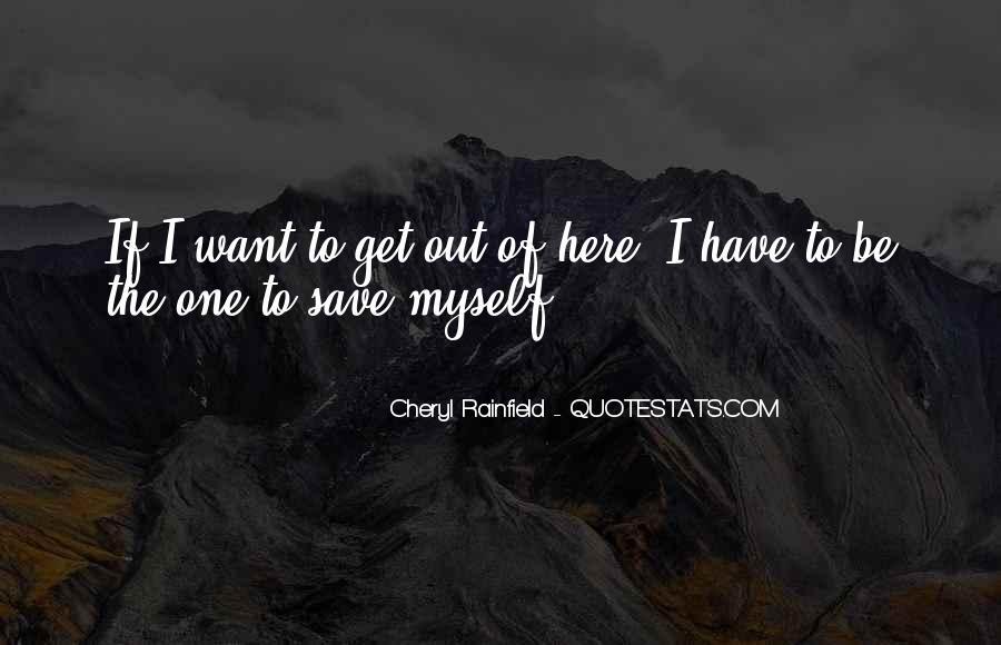 Cheryl Rainfield Quotes #1848301