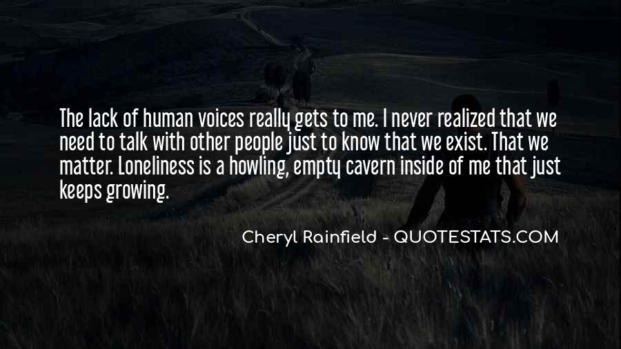 Cheryl Rainfield Quotes #296219