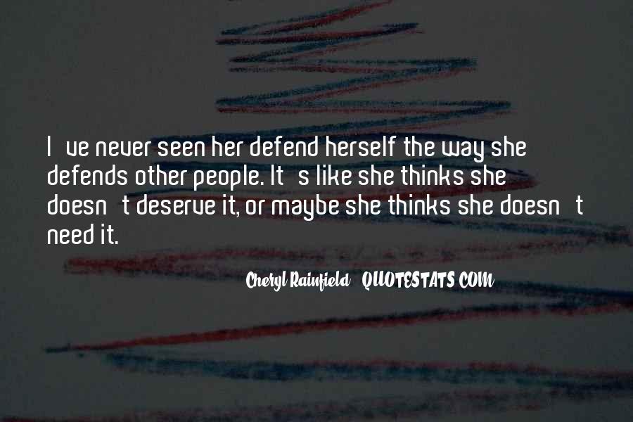 Cheryl Rainfield Quotes #696127