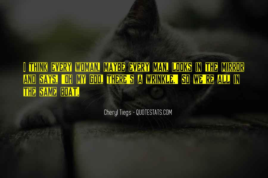 Cheryl Tiegs Quotes #1605483
