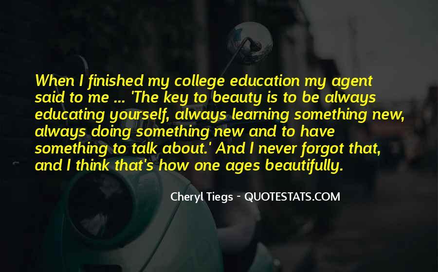 Cheryl Tiegs Quotes #1816427