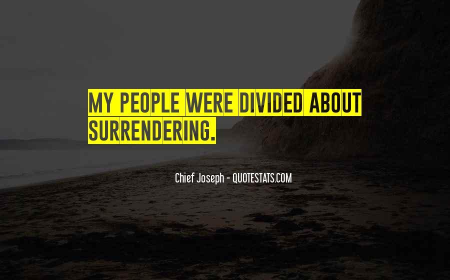 Chief Joseph Quotes #1411325