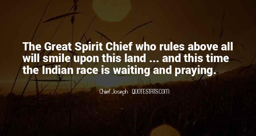 Chief Joseph Quotes #1426938