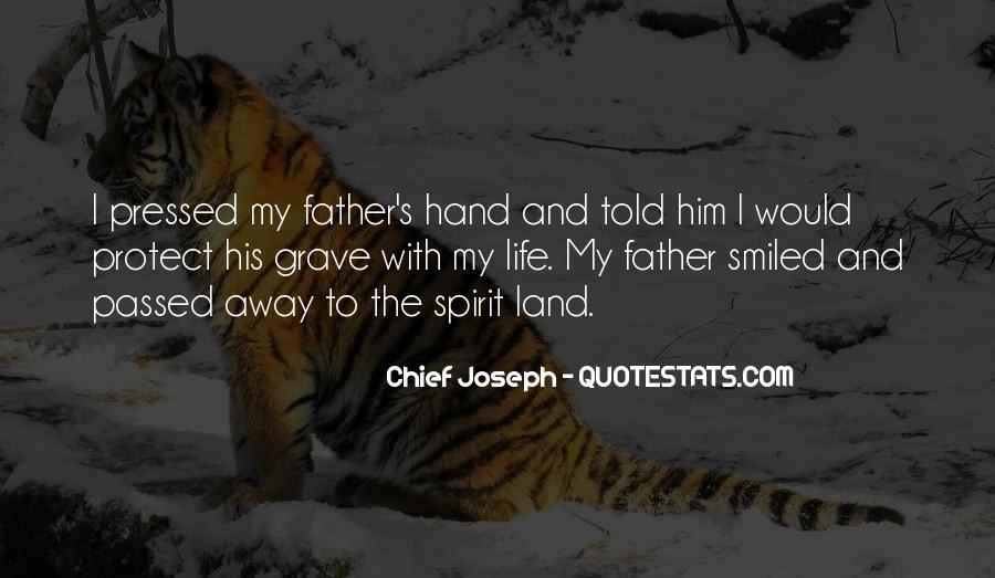 Chief Joseph Quotes #1797310