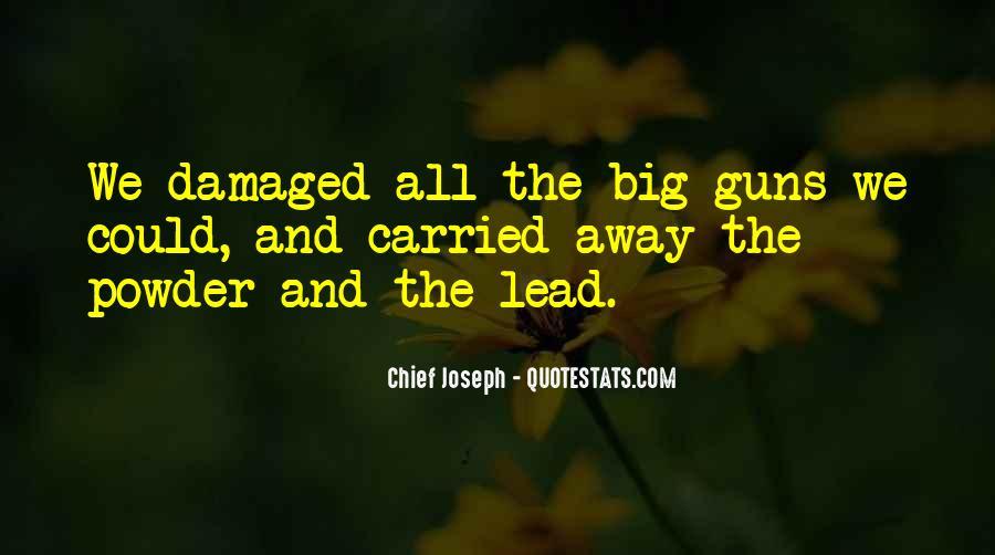 Chief Joseph Quotes #1837463