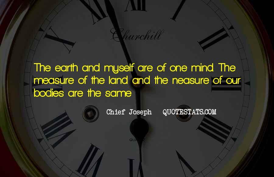 Chief Joseph Quotes #188865