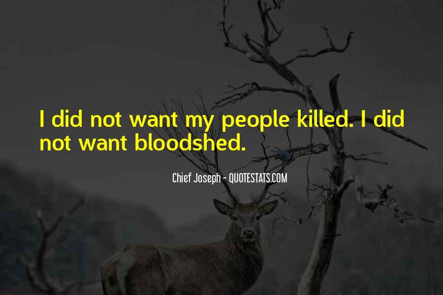 Chief Joseph Quotes #20437