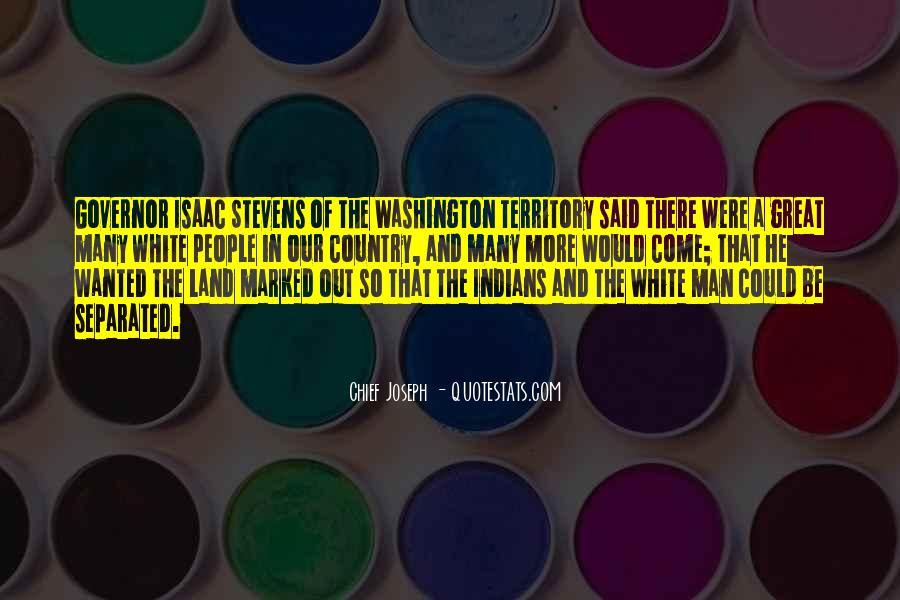 Chief Joseph Quotes #291923