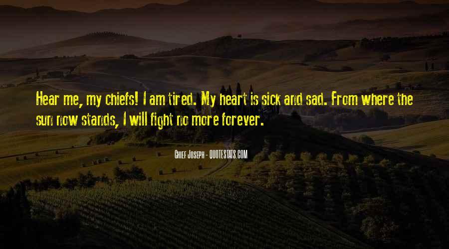 Chief Joseph Quotes #293095
