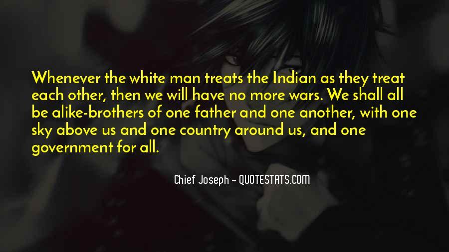 Chief Joseph Quotes #302133