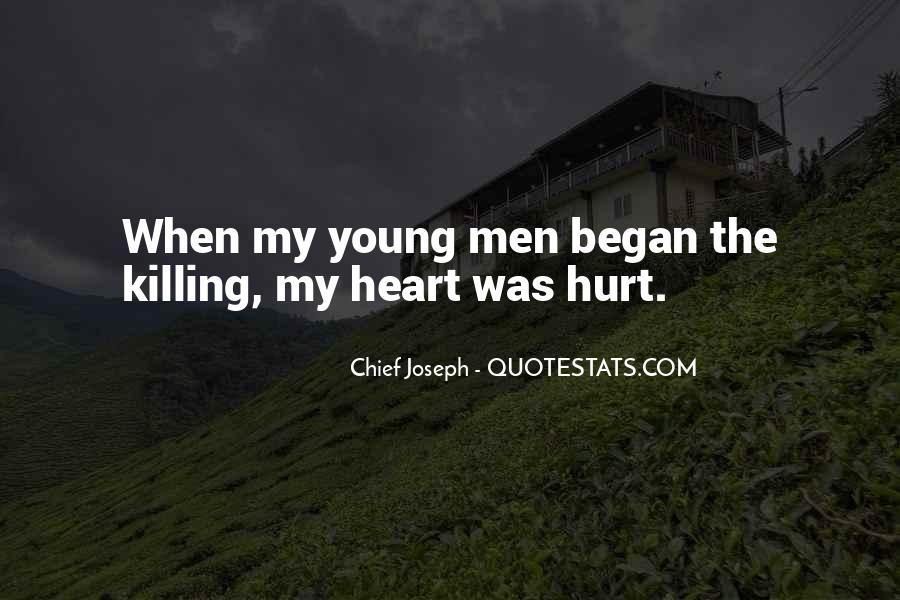 Chief Joseph Quotes #360026