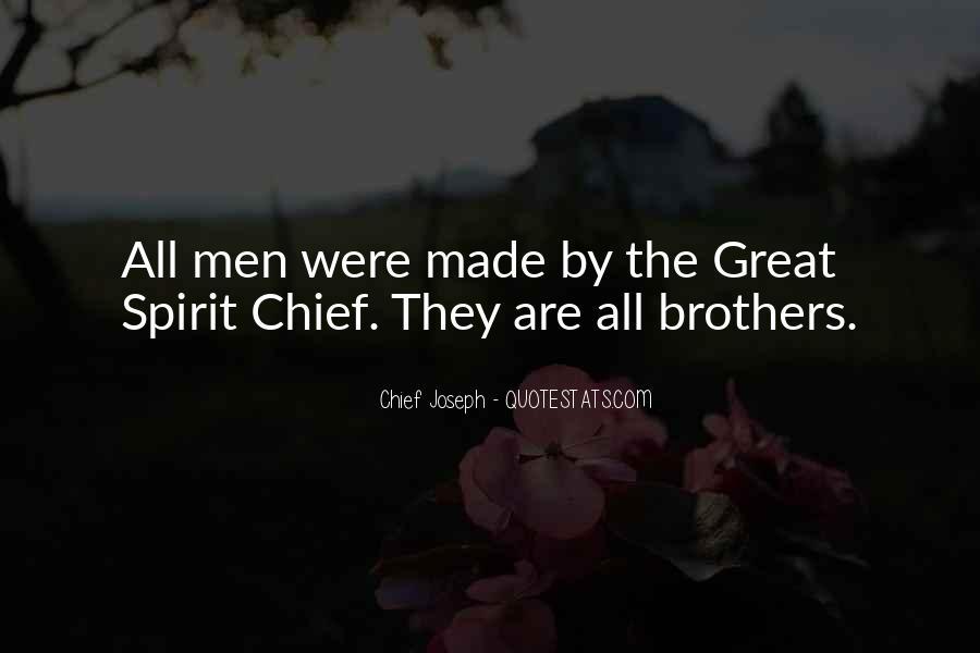 Chief Joseph Quotes #373100