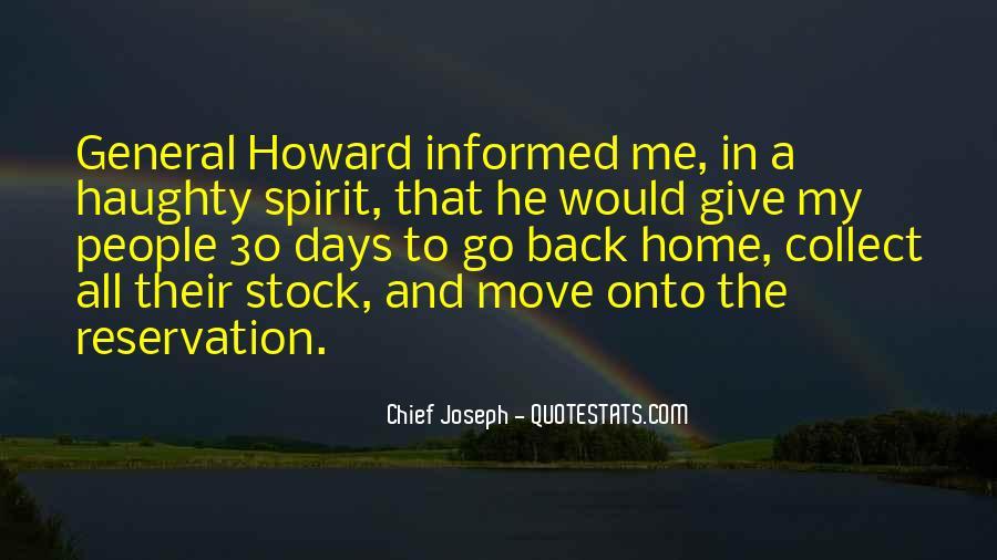 Chief Joseph Quotes #378769