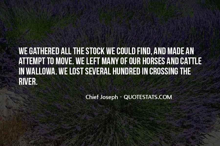 Chief Joseph Quotes #406058