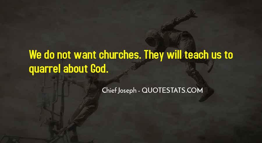 Chief Joseph Quotes #429601