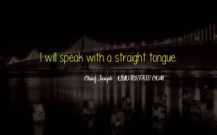 Chief Joseph Quotes #555865