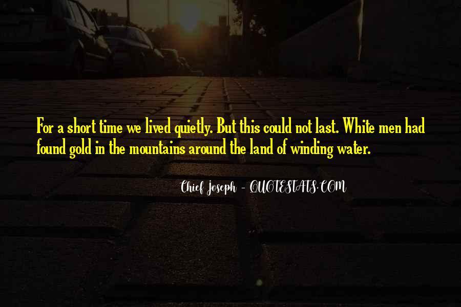 Chief Joseph Quotes #594501