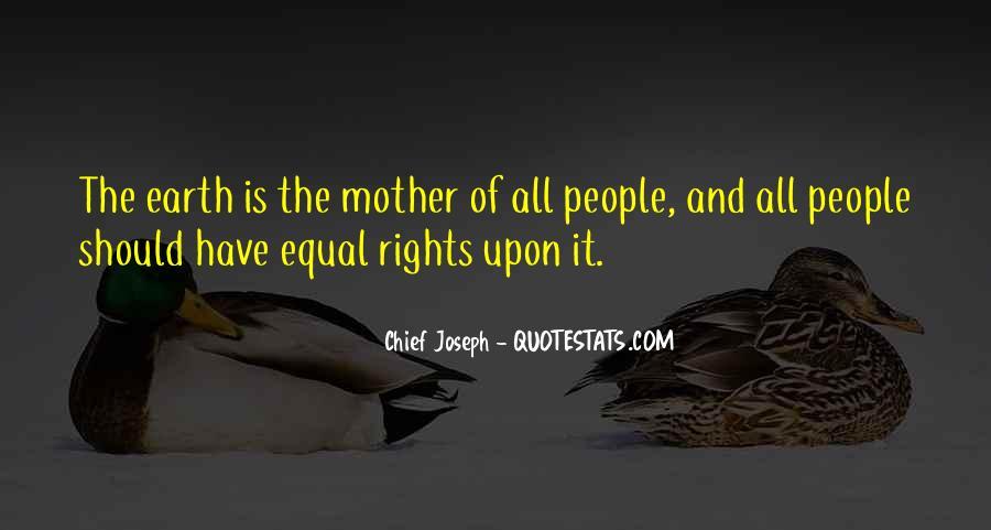 Chief Joseph Quotes #715521