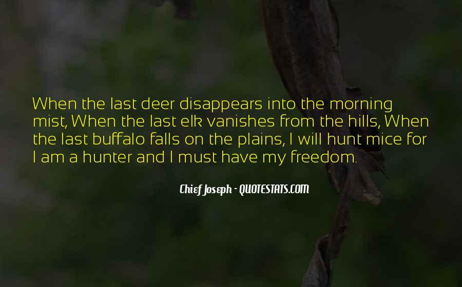 Chief Joseph Quotes #885095