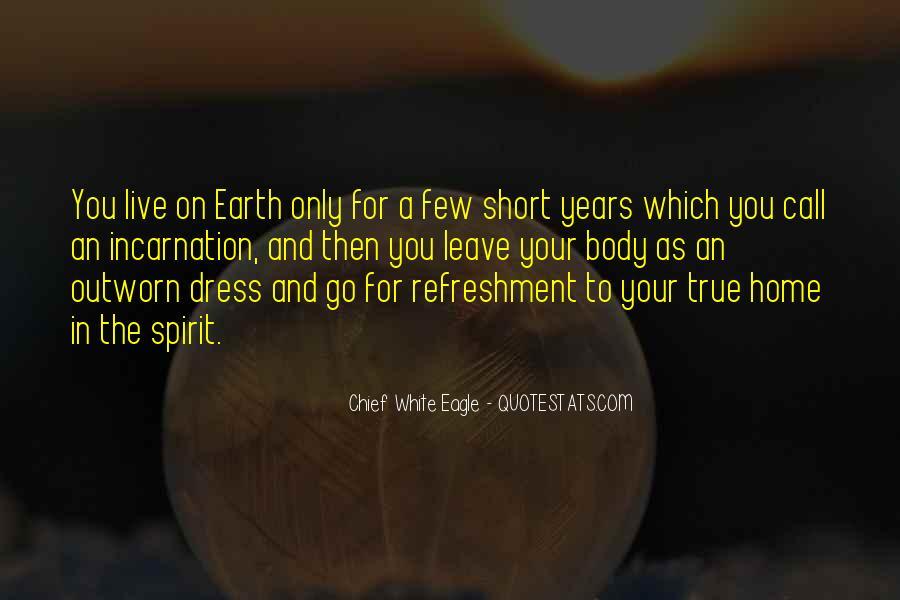 Chief White Eagle Quotes #180378
