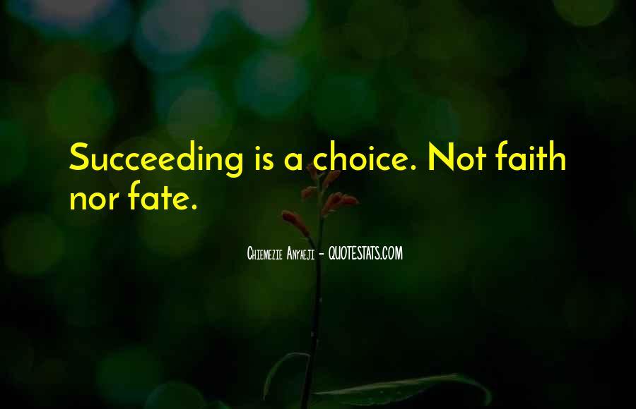 Chiemezie Anyaeji Quotes #265574
