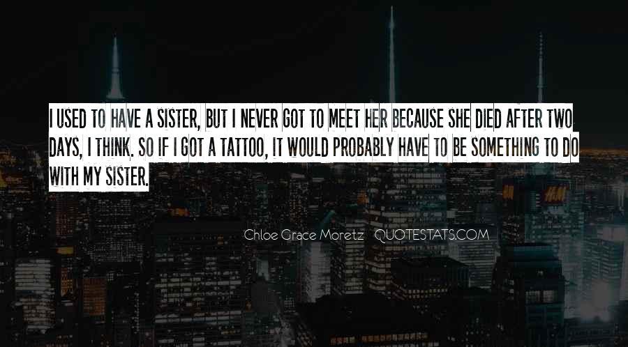 Chloe Grace Moretz Quotes #1568482