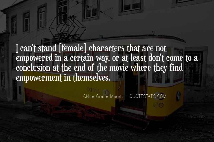 Chloe Grace Moretz Quotes #1715196