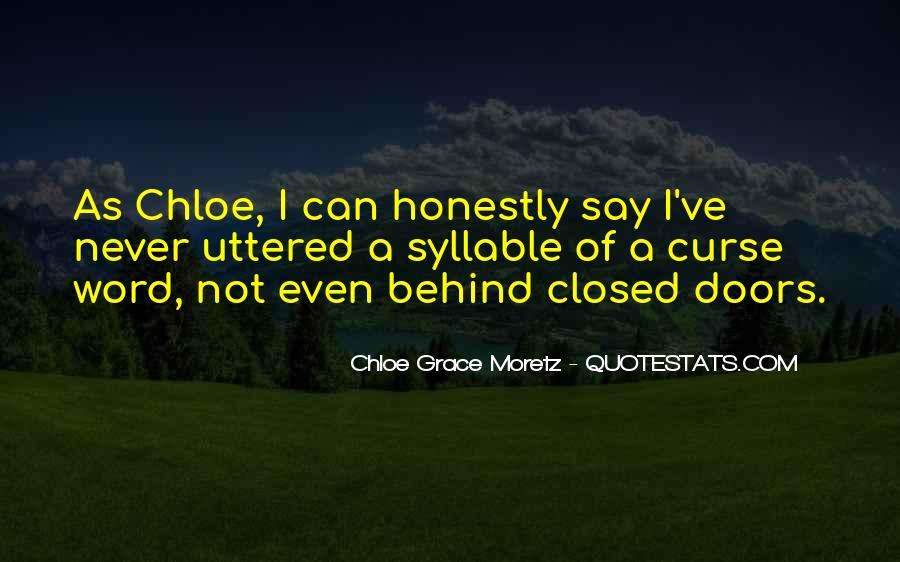 Chloe Grace Moretz Quotes #275609